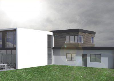 Rendering Einfamilienhaus