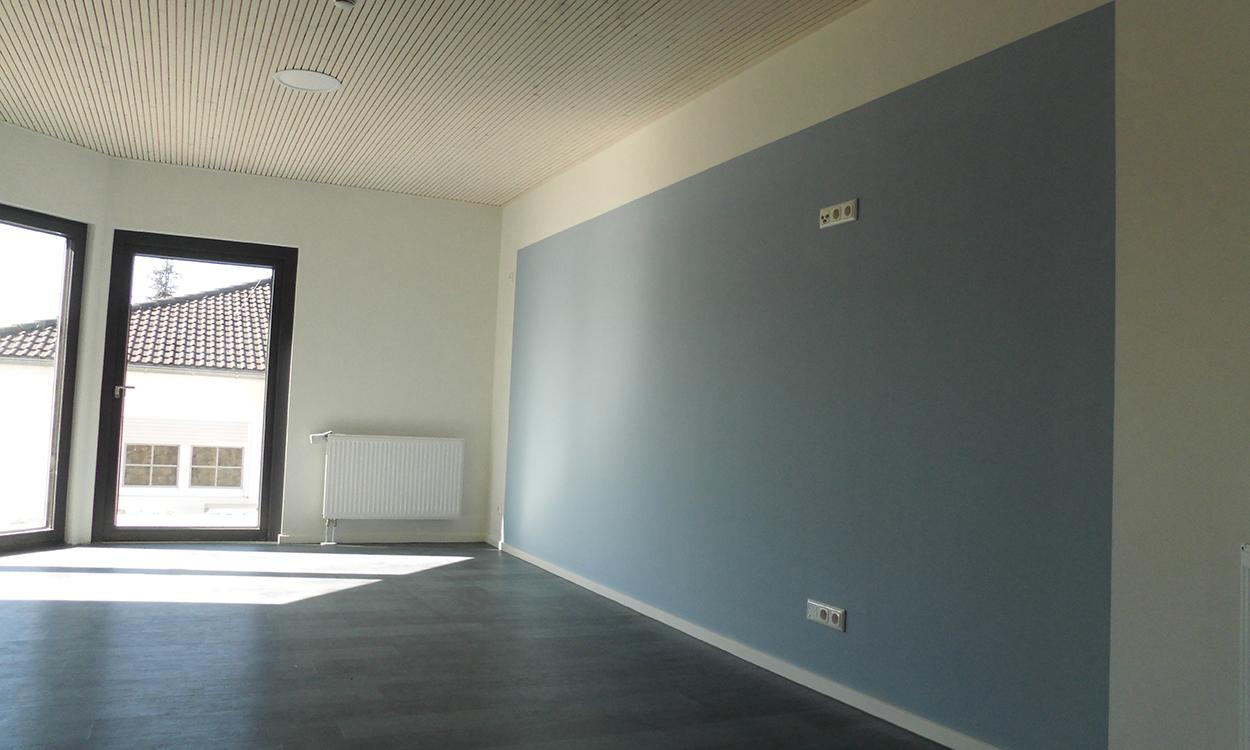 Wohnraum für eine ambulant betreute Wohngruppe