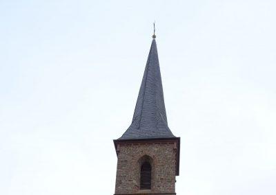 Renovierung und Sanierung einer Kirche